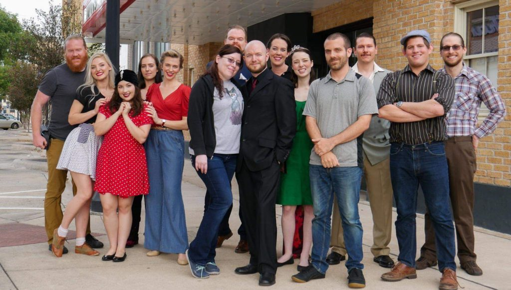 The cast and crew photo for Connie Cosmos